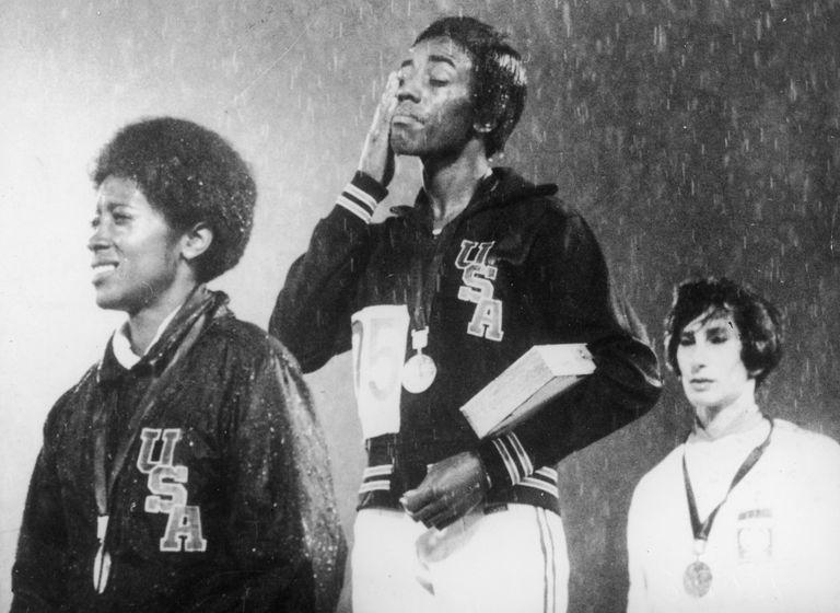 Wyomia Tyus at 1968 Olympics