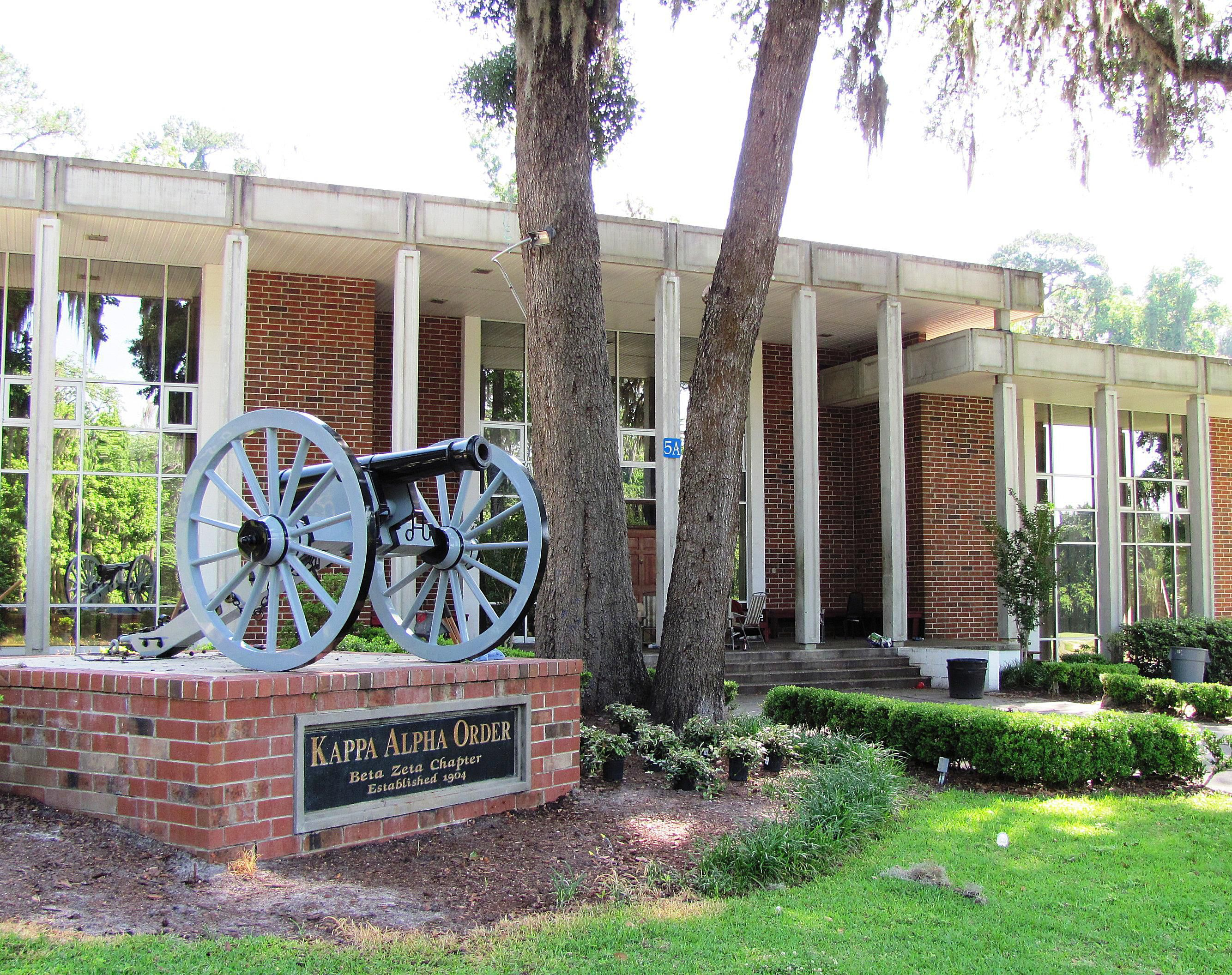 Kappa Alpha Fraternity at the University of Florida