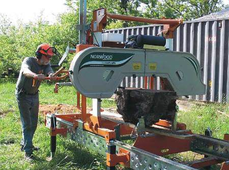 Used Portable Sawmills For Sale >> The 5 Best North American Portable Sawmills