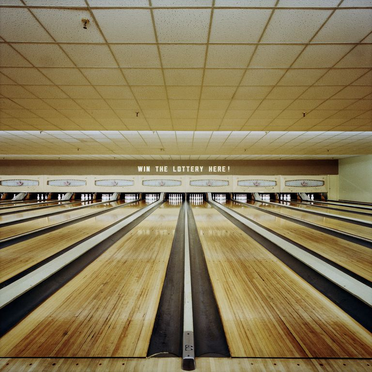 Bowling alley.