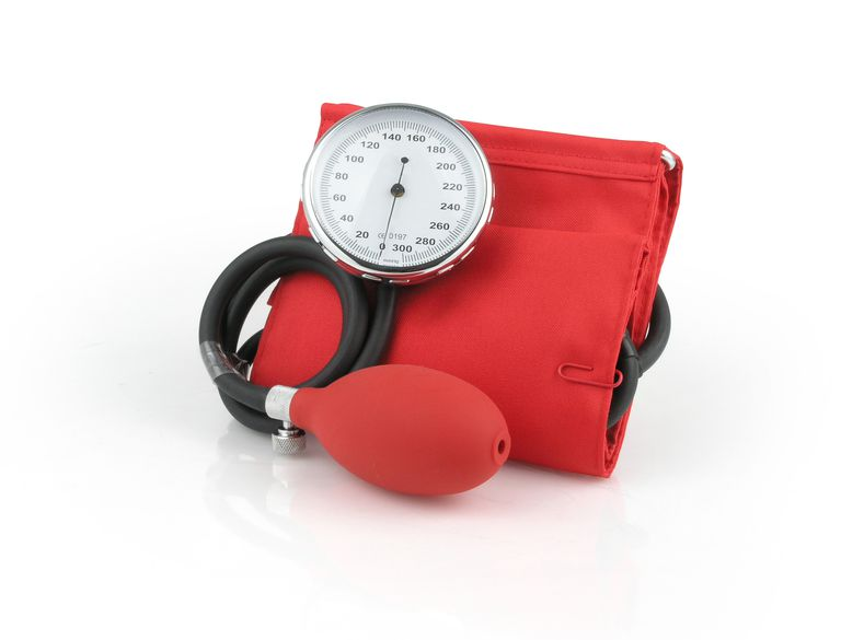 A sphygmomanometer or blood pressure gauge is a familiar type of manometer.