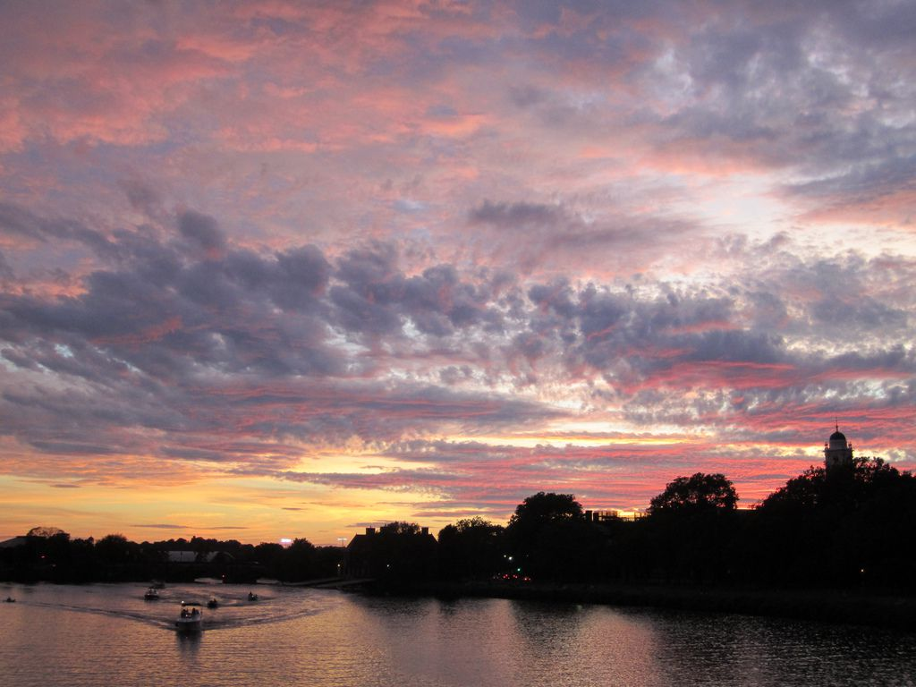 Clouds Over Cambridge, Massachusetts