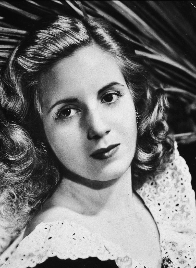 Picture of Argentinia's first lady, Eva Peron (Evita).