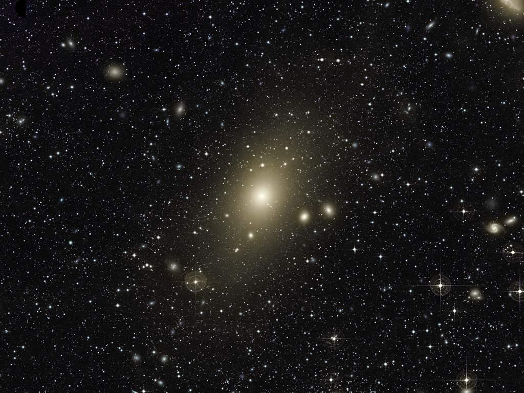 galaxies in Virgo constellation