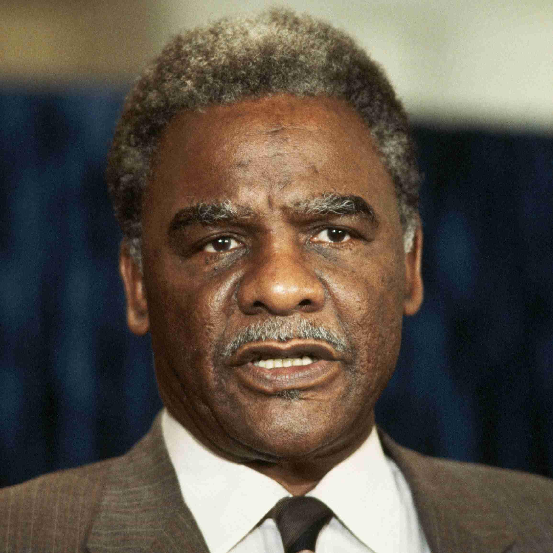 El alcalde de Chicago, Harold Washington