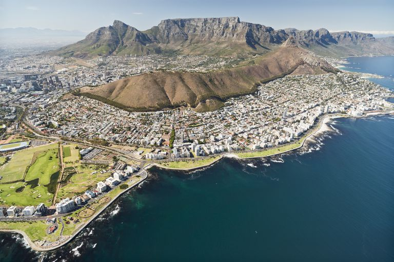 Southern tip of Cape Town, South Africa