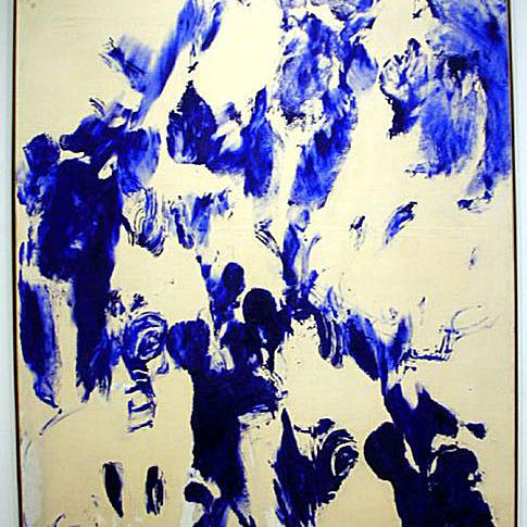 """Living Paintbrush"" - Yves Klein"