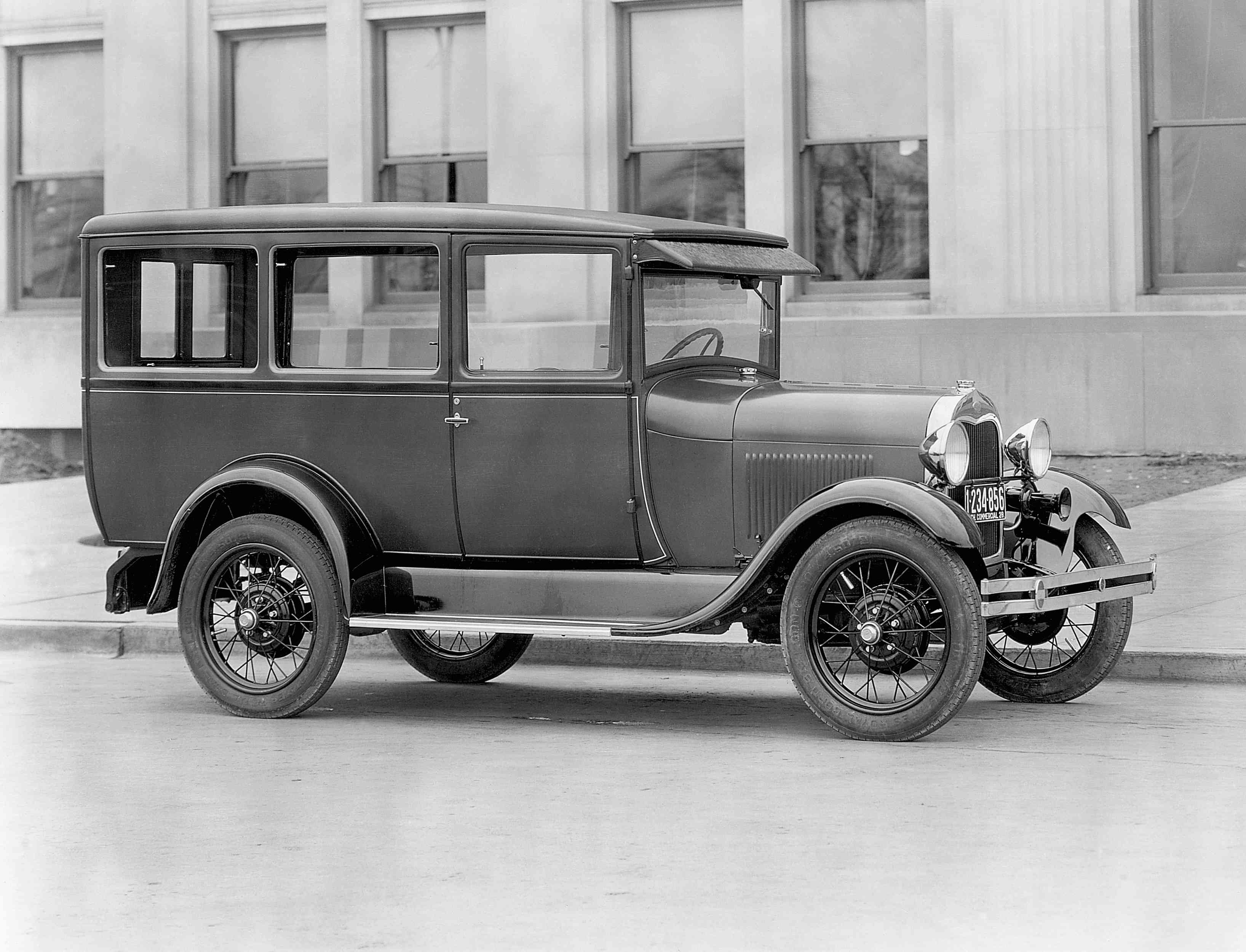 Photograph of a Ford Model A
