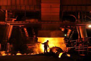 Manual steel worker