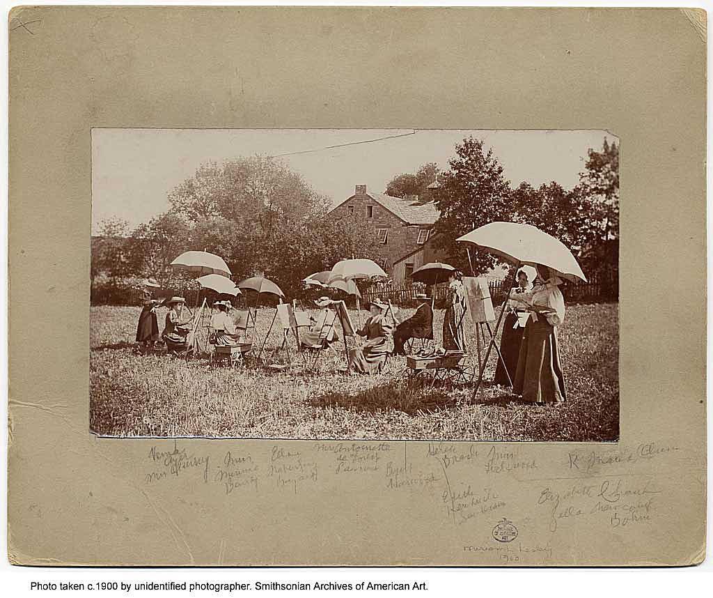 Summer Art School in 1900