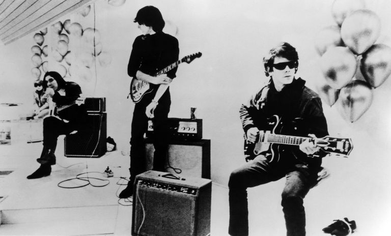 Photo of Lou REED and John CALE and VELVET UNDERGROUND