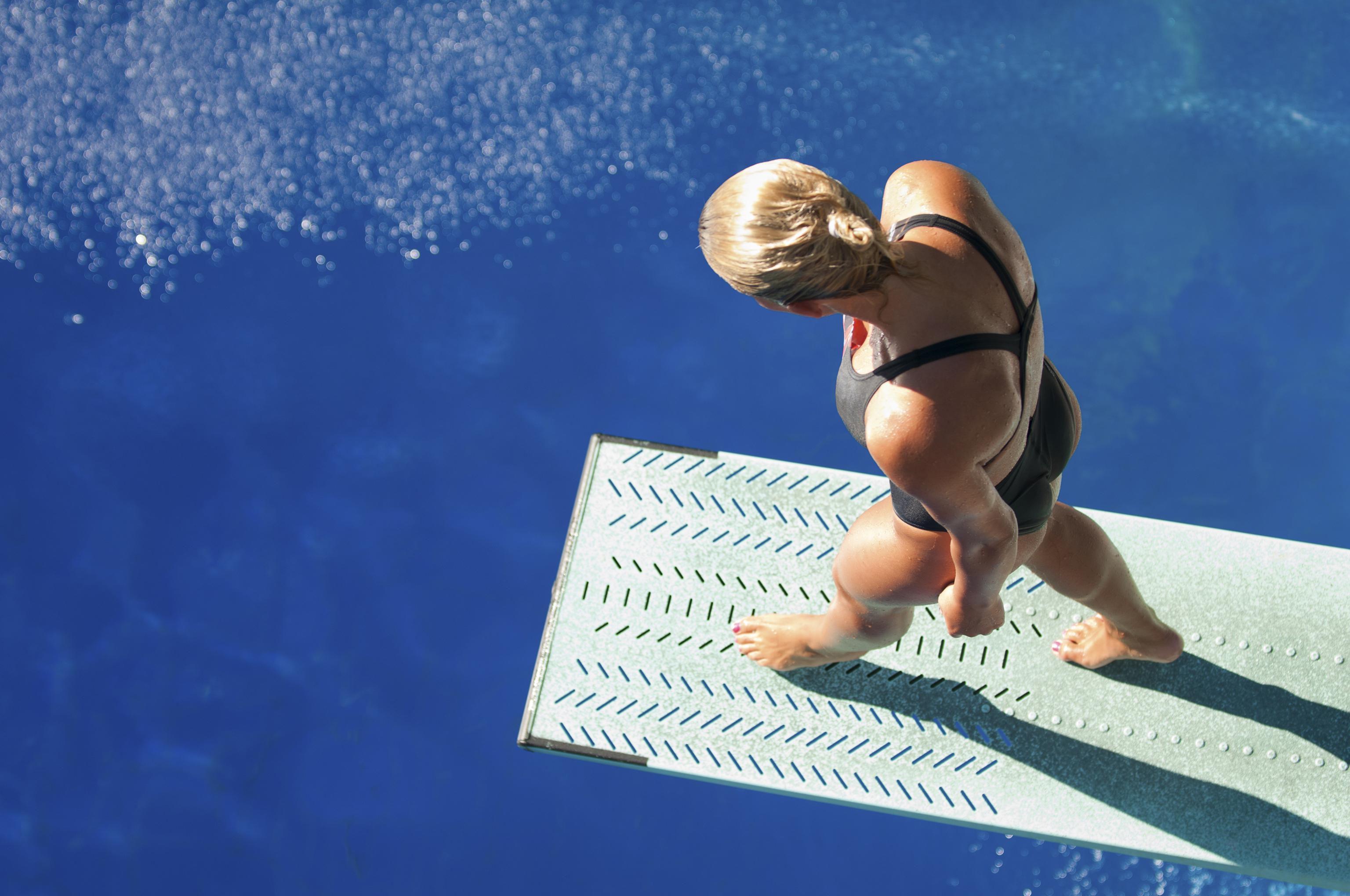 Safe Water Depth For Springboard And Platform Diving