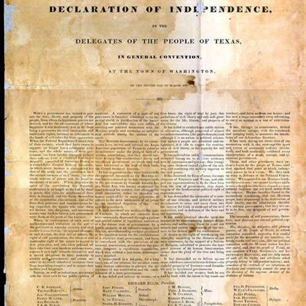 Causes of Texas Independence