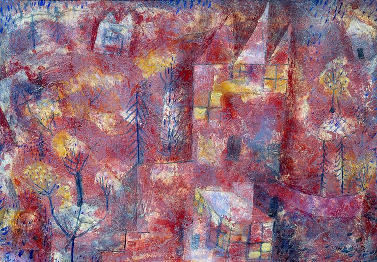 Landscape with Child by Paul Klee