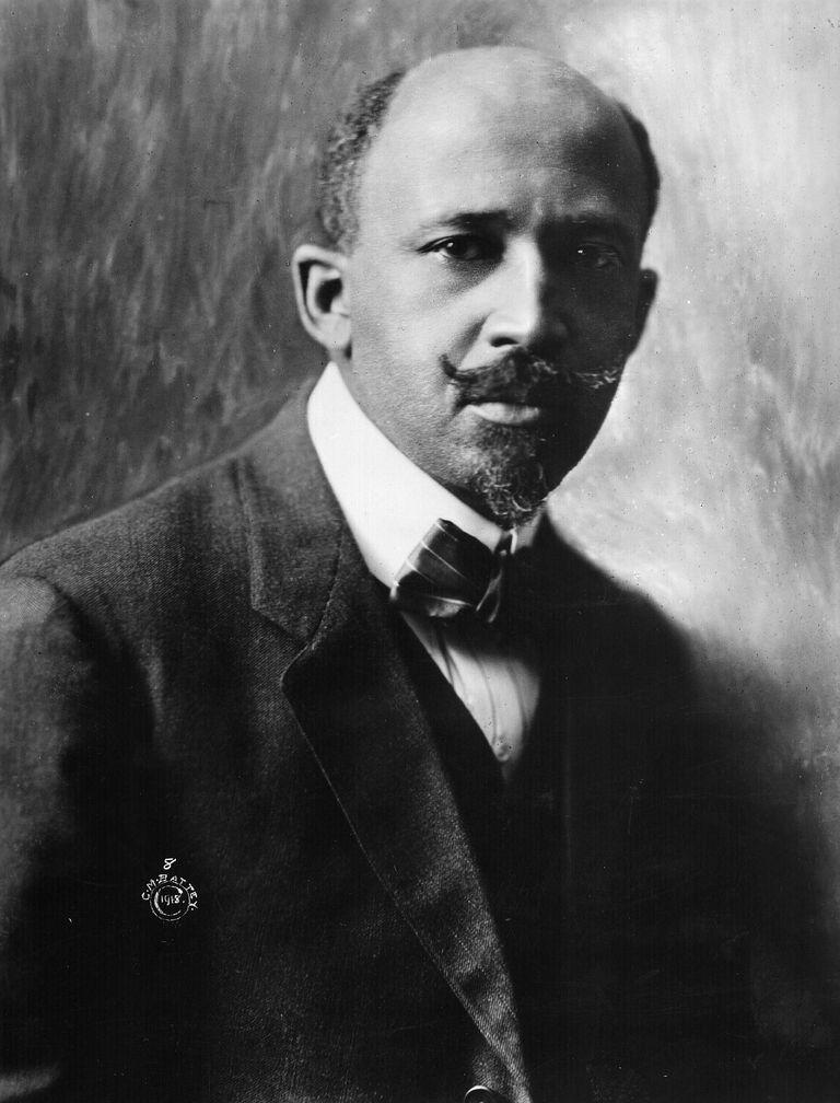 Portrait of W.E.B Du Bois