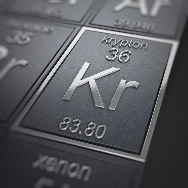 Krypton facts periodic table of the elements science picture cogetty images urtaz Images