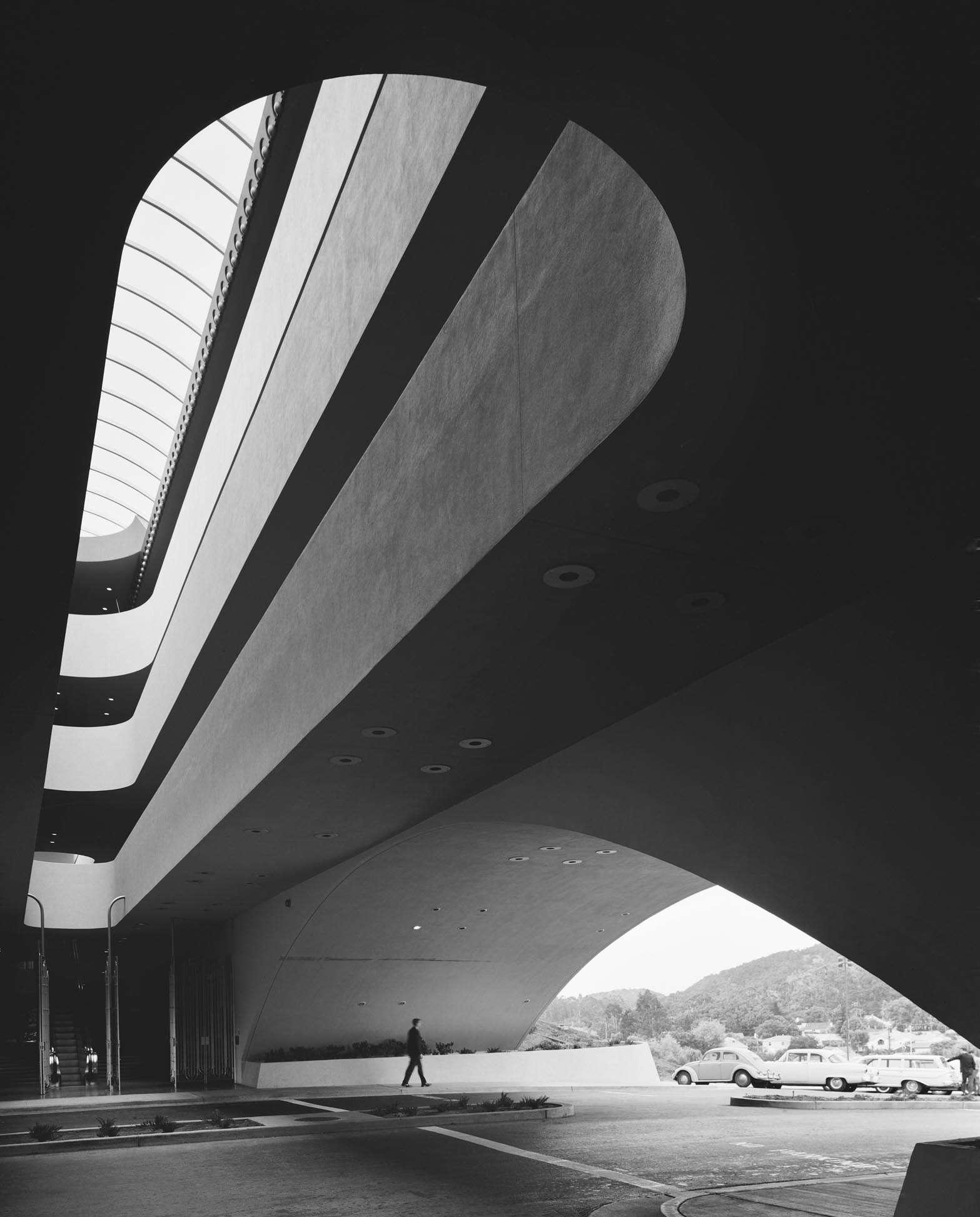 Marin County Civic Center in San Rafael, California by Frank Lloyd Wright