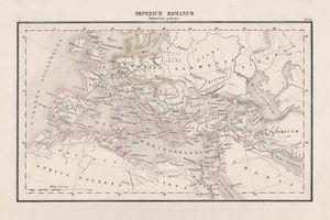 Roman Empire with provinces