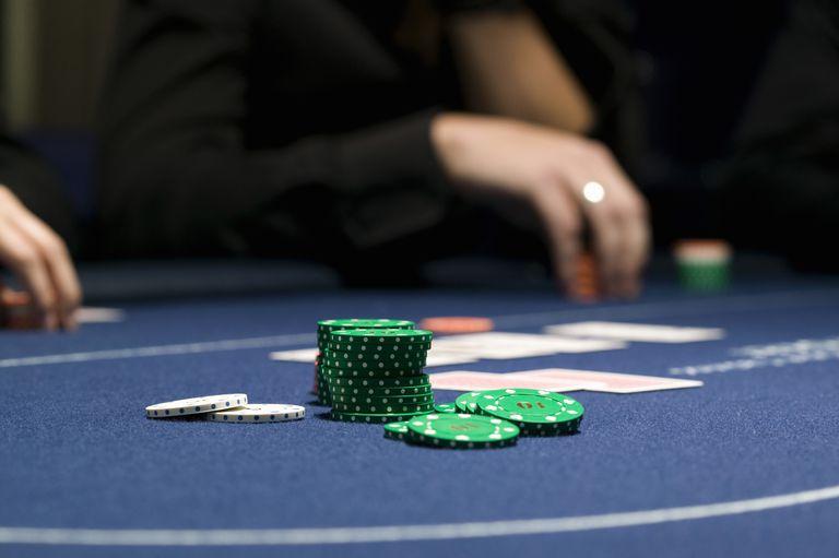 Texas Hold 'Em at a Casino