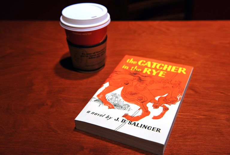 """""""The Catcher in the Rye"""" by author J.D. Salinger"""