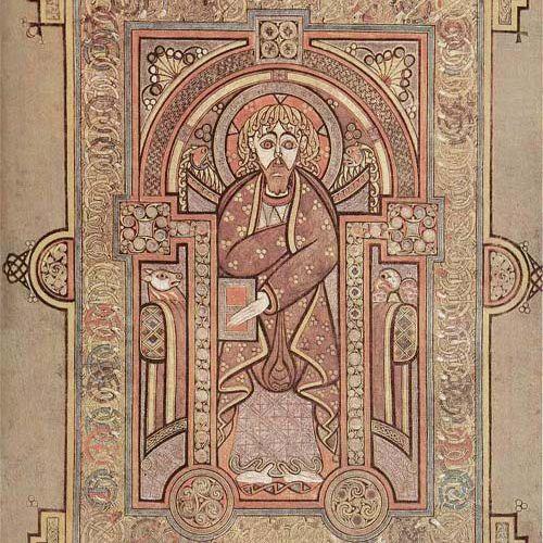 Richly-Textured Representation of the Evangelist