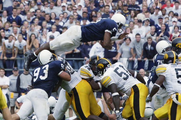 Johnson leaps over line for TD