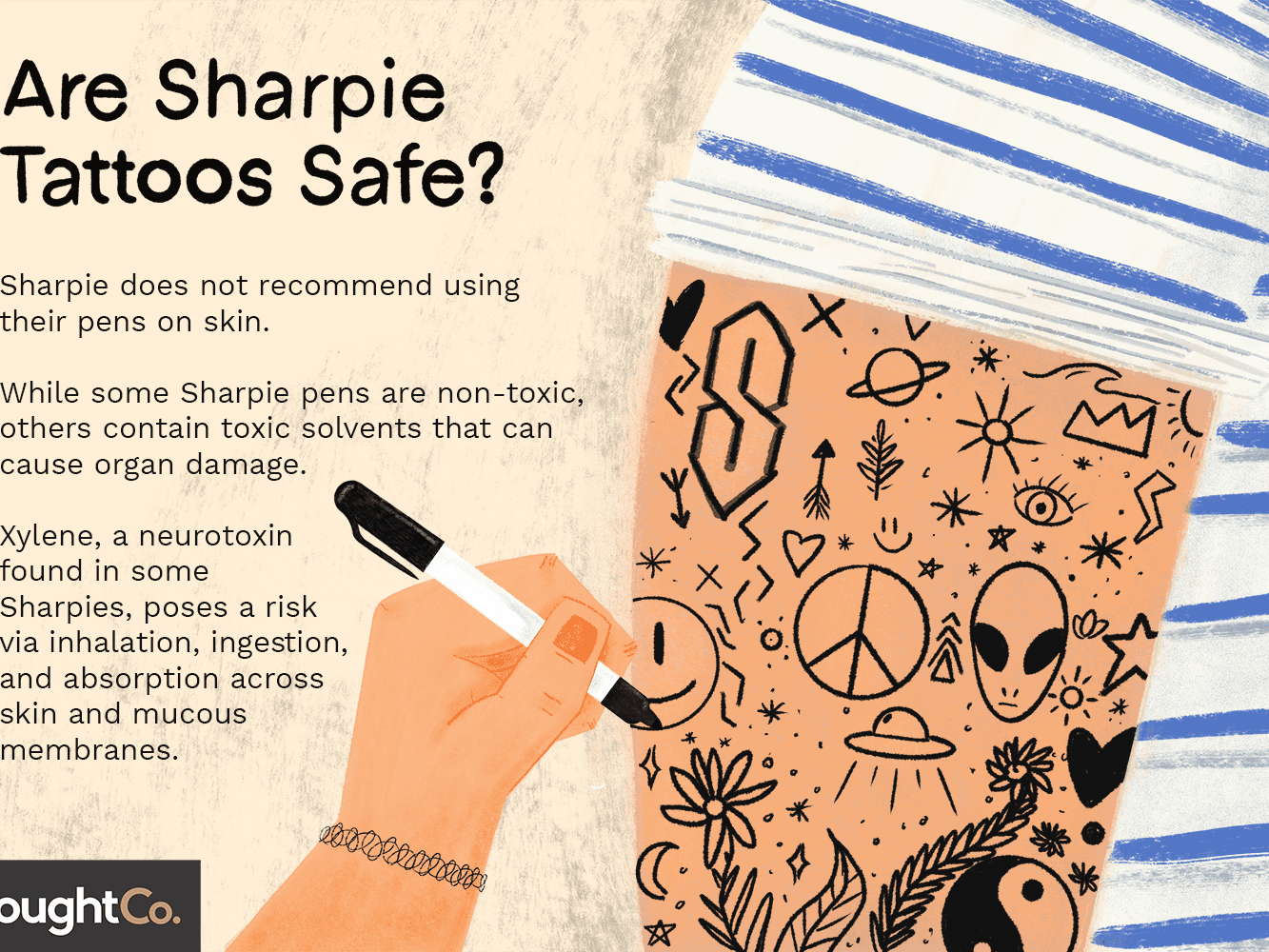 Are Sharpie Tattoos Safe Here S What