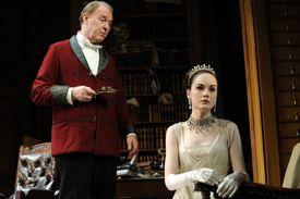 A performance of George Bernard Shaw's 'Pygmalion' in London