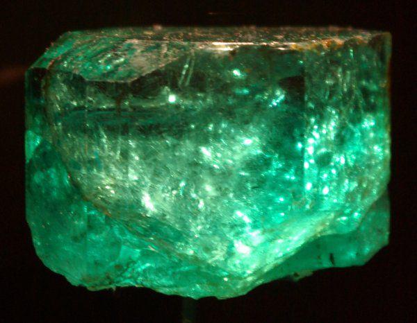 The 858-carat Galacha Emerald hails from the La Vega de San Juan mine in Gachalá, Colombia.