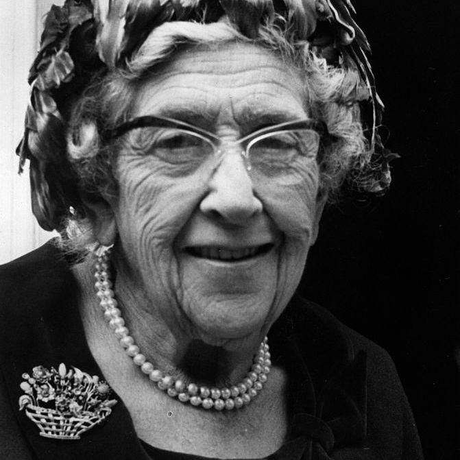 Agatha Christie at Age 80