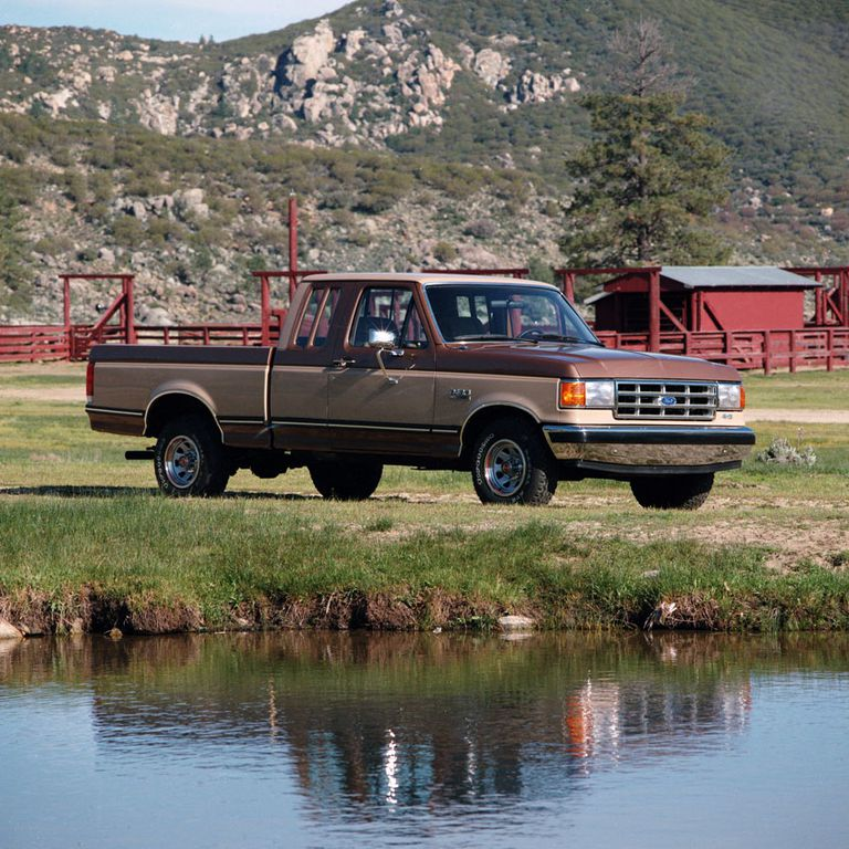 1987–1996 Ford F-150 Series Pickup Trucks on