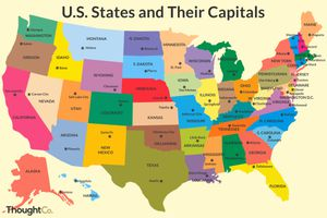 U.S. states and their capitals
