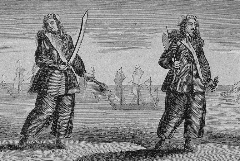 Female Pirates Anne Bonny & Mary Read