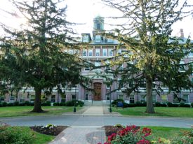Warde Hall at Mount Mercy University