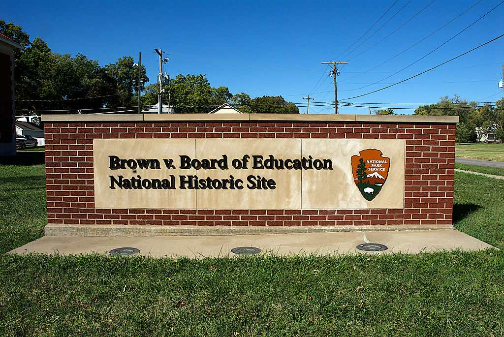Monroe School, a Brown v Board of Education National Historic Site