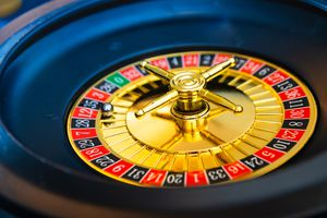 Close-Up Of Roulette Wheel