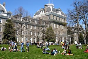 Parrish Hall at Swarthmore College