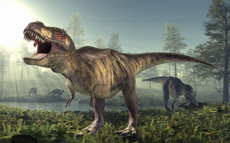 how loud could dinosaurs roar