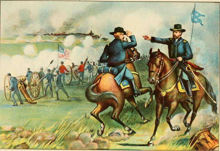 U.S.Grant at the Siege of Vicksburg.