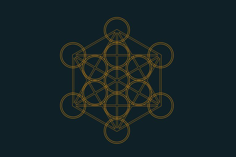 Metatrons Cube In Sacred Geometry