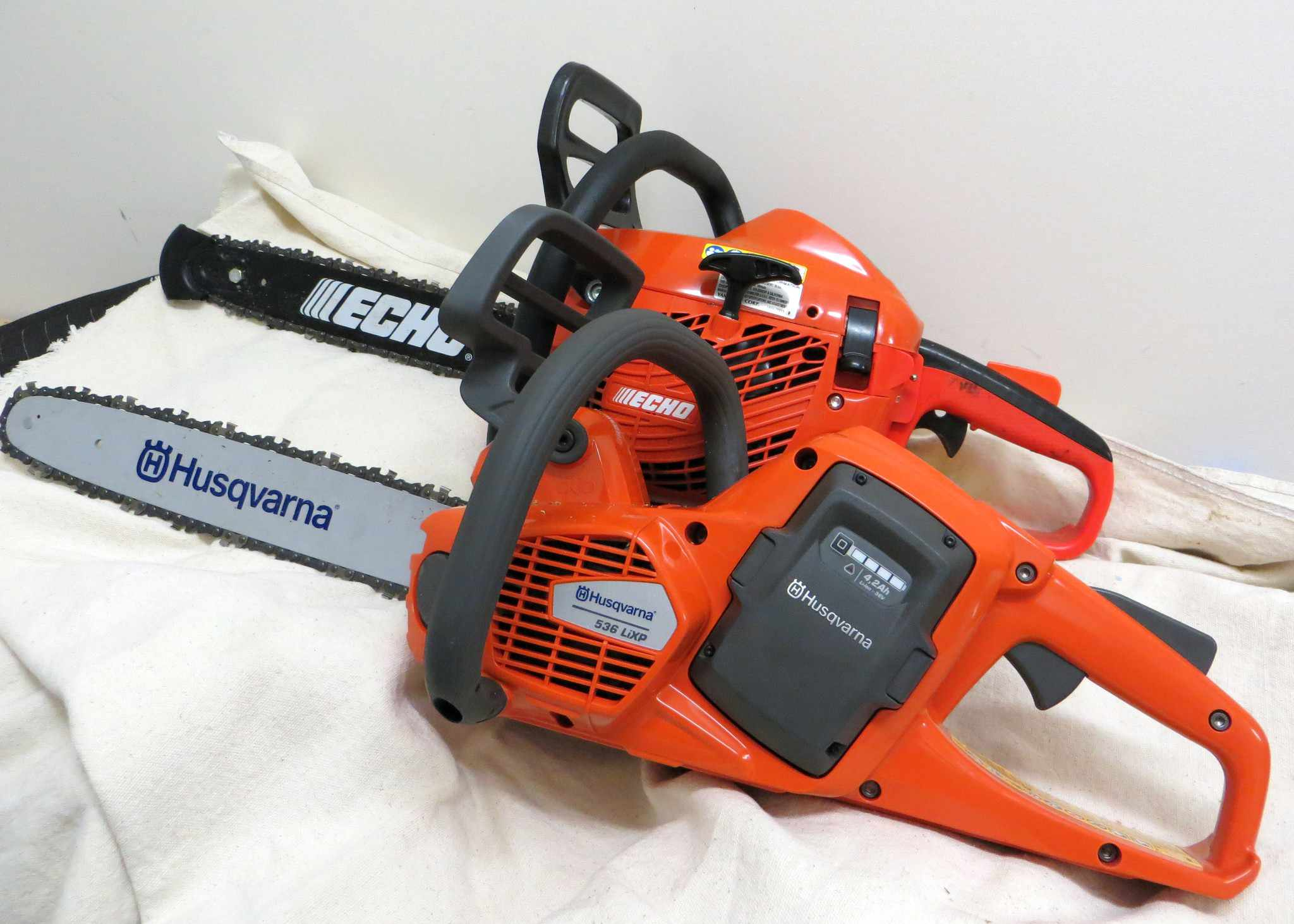 The new husqvarna electronic chainsaw greentooth Choice Image