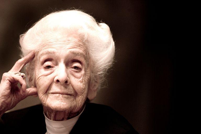 Neuroscientist Rita Levi-Montalcini at 100