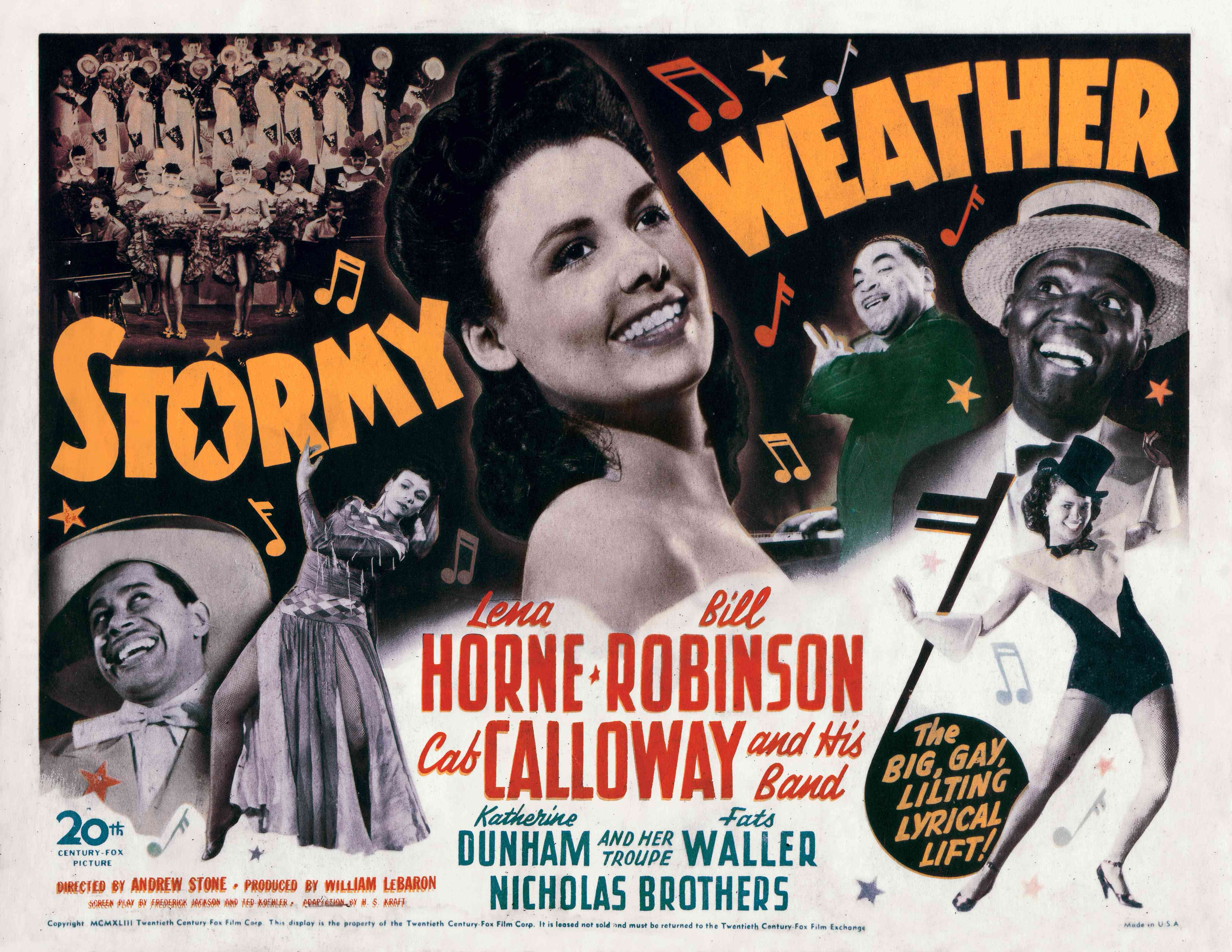 Poster for 'Stormy Weather'