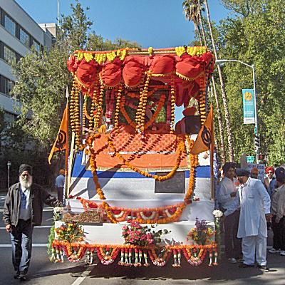 Guru Gadee Float