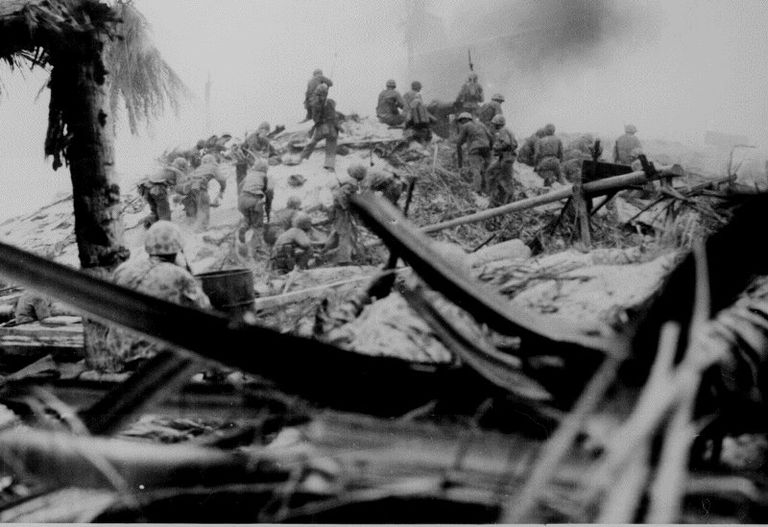 Marines at the Battle of Tarawa