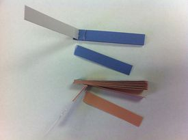 Litmus paper is a type of pH paper made from lichen pigments.