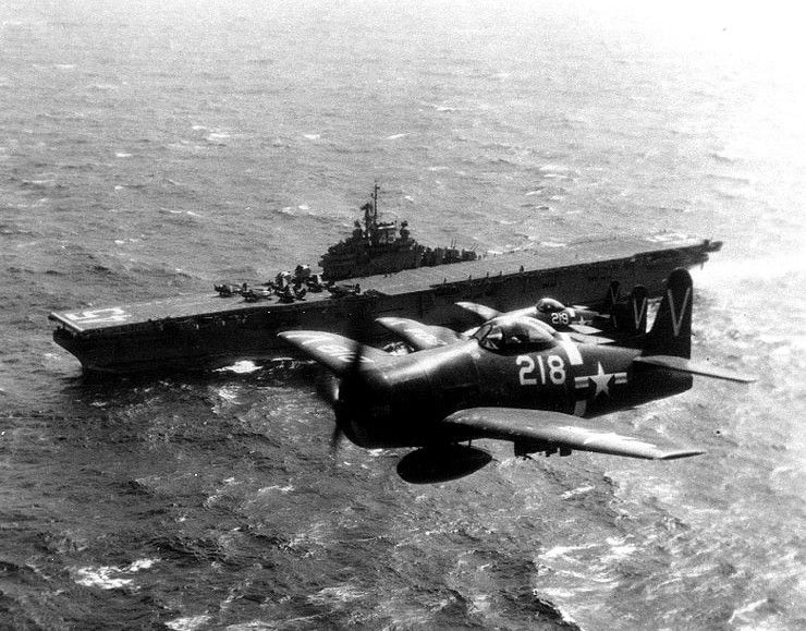 USS Valley Forge - CV-45