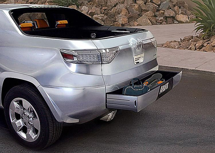 Toyota A Bat Concept Truck Tailgate Storage