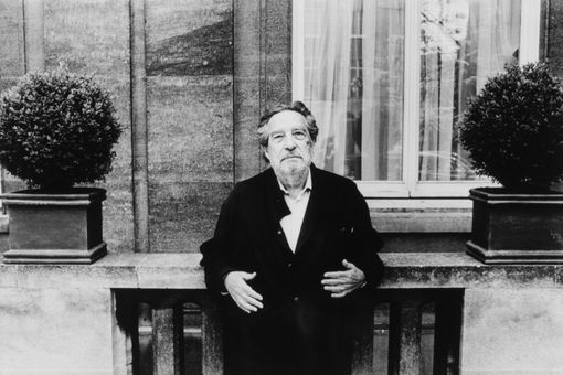 Mexican writer Octavio Paz