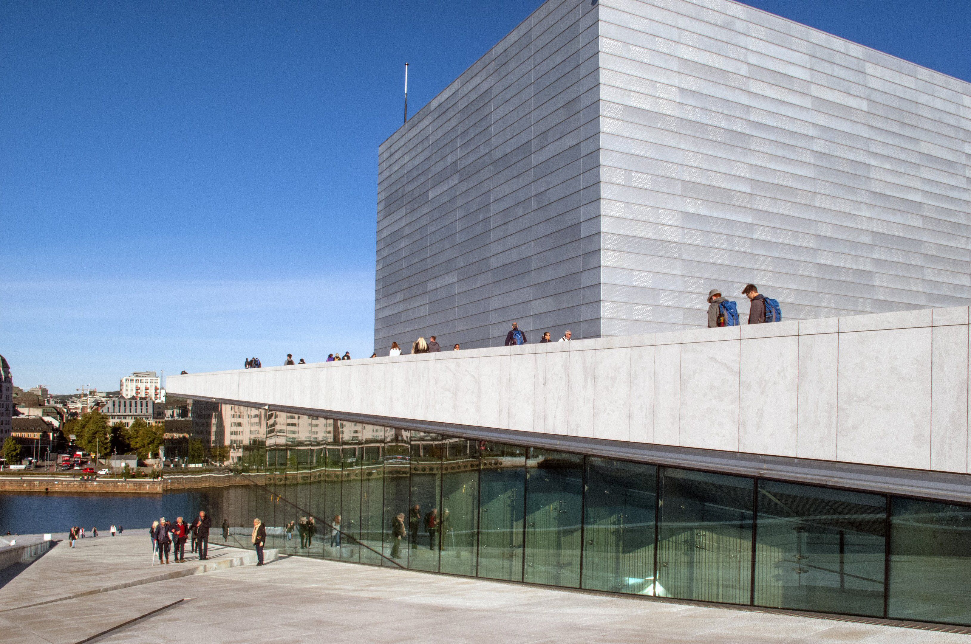 Exterior Geometry of the Oslo Opera House in Norway